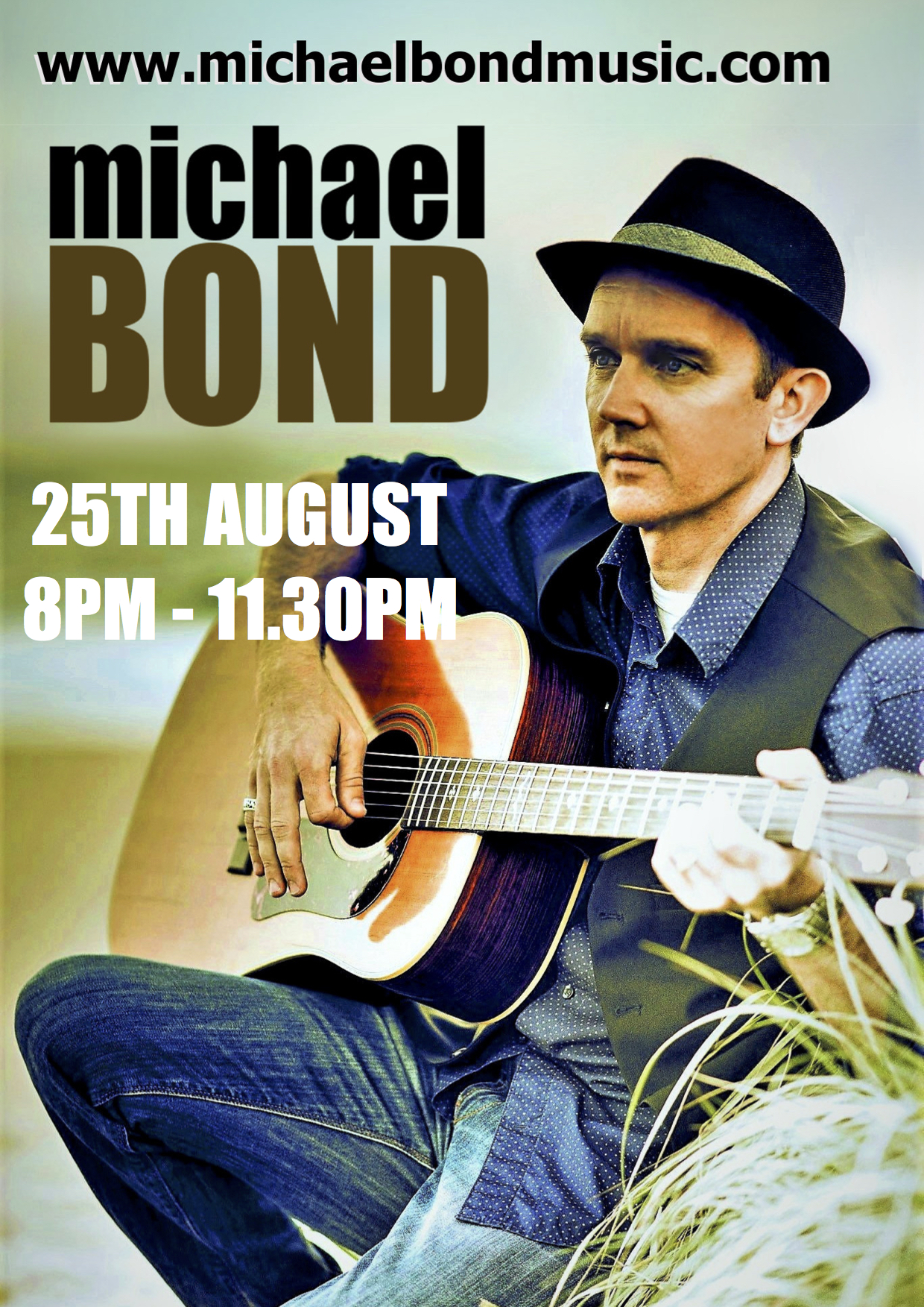 MICHAEL BOND 2018 POSTER AUG