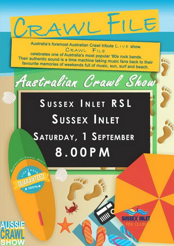sussex inlet RSL 1st september 2018
