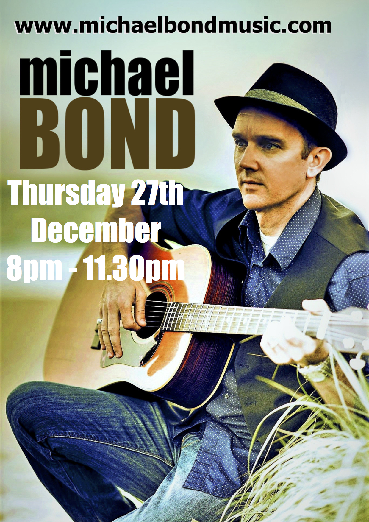 MICHAEL BOND 2018 POSTER 27th dec