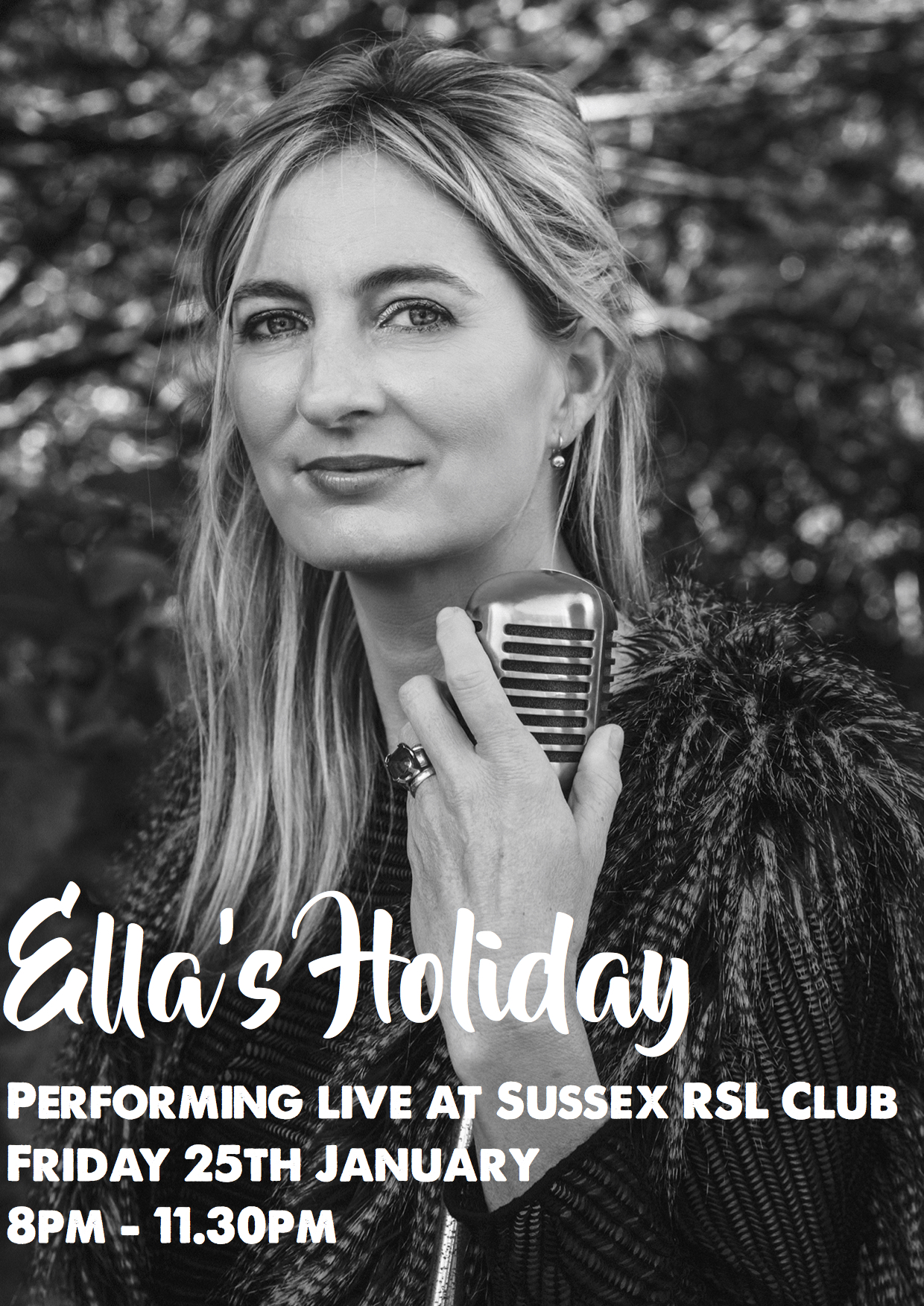 ellas holiday fri 25th jan
