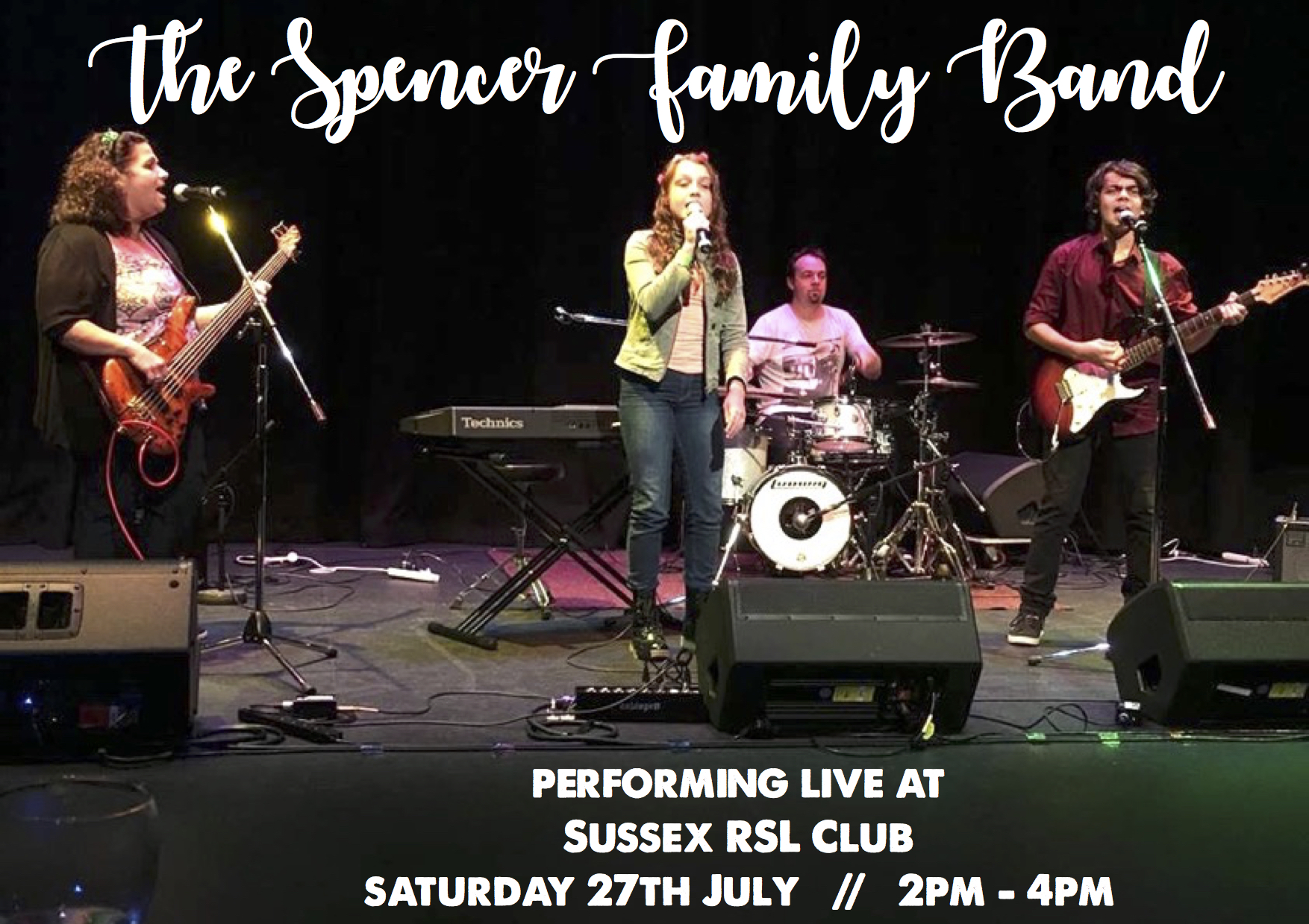 the spencer family band 27th july